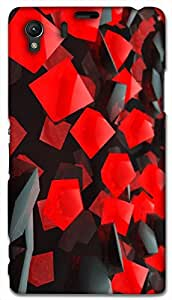 Timpax protective Armor Hard Bumper Back Case Cover. Multicolor printed on 3 Dimensional case with latest & finest graphic design art. Compatible with Sony L39H - Sony 39 Design No : TDZ-25024