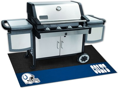 "Team Fan Gear Fanmats NFL - Indianapolis Colts Grill Mat Size=26""x42"" NFL-12187"