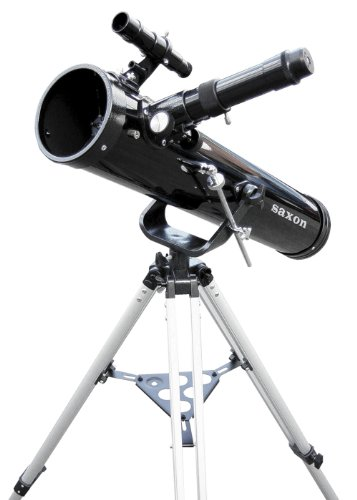Saxon 767AZ Astronomy Sky and Land Telescope with Barlow Lens