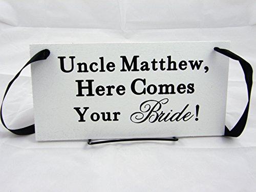 Ring Bearer Wood Wedding Sign