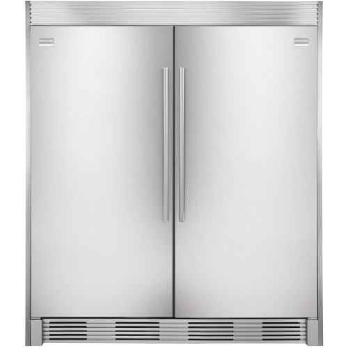 Frigidaire TRIMKITEZ2 Trim Kit for Tall Door Twins, Stainless Steel