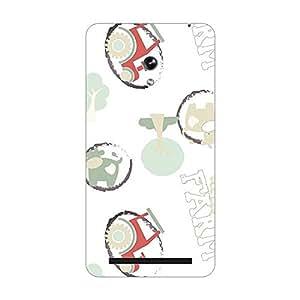 Garmor Designer Plastic Back Cover For Asus Zenfone 4.5