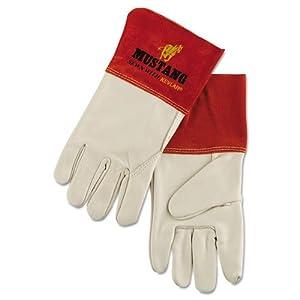 Memphis - Mustang Mig/Tig Welder Gloves, Tan, Extra Large, 12 Pairs 4950XL (DMi DZ by Memphis by Memphis
