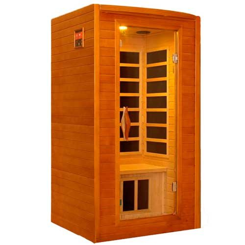 LifeSmart 9201 One Person Sauna with Carbon Heaters