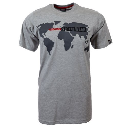 Vision Street Wear World T-Shirt , grau