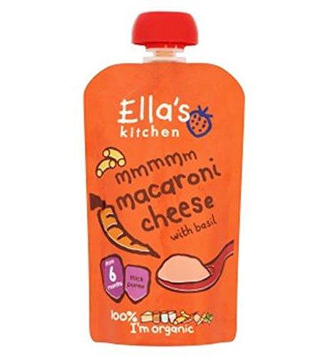 Cuisine Macaroni Au Fromage De Ella Au Basilic À Partir De 6 Mois 120G - Lot De 2