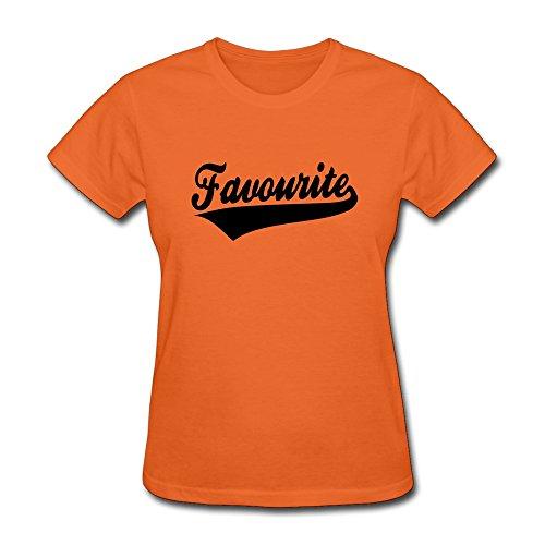 WSB Women's Tshirt Favourite Design Orange L (Taurus Toaster compare prices)
