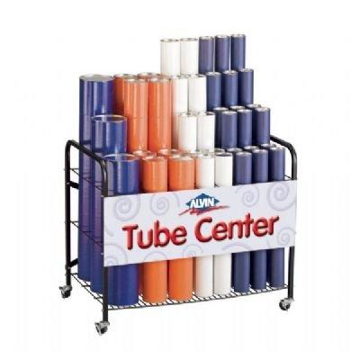 [해외]종이 튜브에 대한 앨빈 WRF66 빈 랙/Alvin WRF66 Empty Rack for Paper Tubes