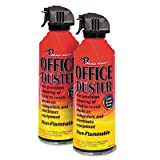 Advantus Read Right OfficeDuster All Purpose Duster, Twin Pack, 10 Ounce Cans, Non-Flammable (RR3522)