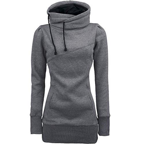 luca-fashion-women-long-sleeve-blouse-m-gray