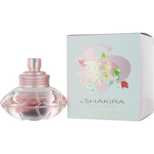 Shakira Eau de Toilette Spray for Women, S Eau Florale, 1.7 Ounce