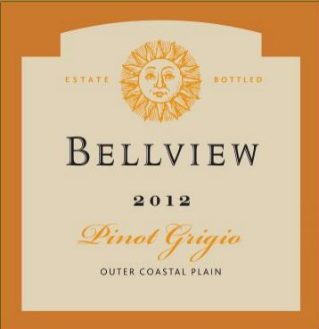2012 Bellview Winery Pinot Grigio 750 Ml