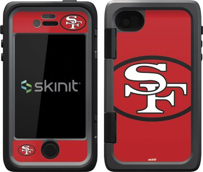 Nfl - San Francisco 49Ers - San Francisco 49Ers Retro Logo - Skin For Otterbox Armor Iphone 4 / 4S Case