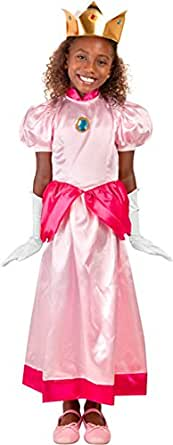 Child Video Game Plumber Princess Costume