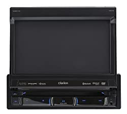 See Clarion NZ503 DVD Multimedia Receiver with Built-In Navigation and Single DIN Motorized 7-Inch High Resolution Touch Panel Control Details