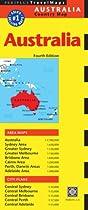 Australia Travel Map