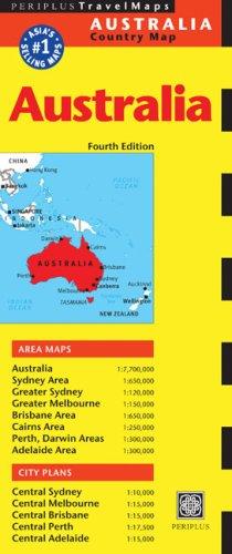 Australia Travel Map Fourth Edition (Australia Regional Maps)