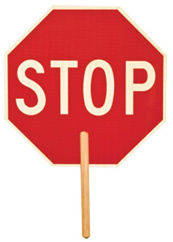 ml-kishigo-5951-non-reflective-double-sided-stop-sign-with-9-handle-stop-stop