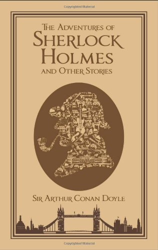 Adventures of Sherlock Holmes and Other Stories (Leatherbound Classics)