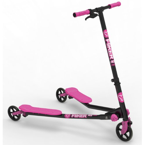 Yvolution Y Fliker A3 Air - Black/Pink