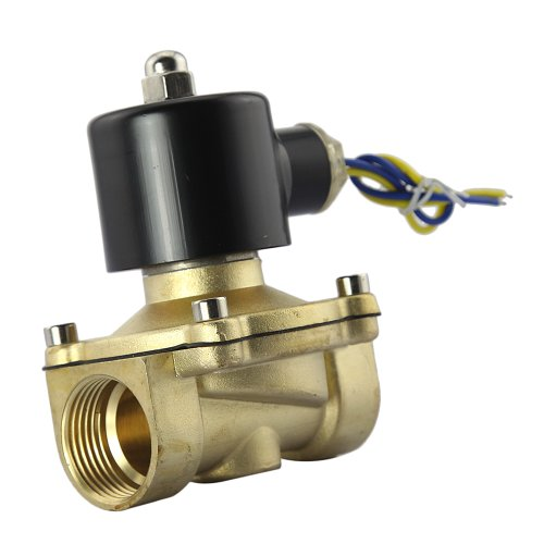 """Gadgetzone (Us Seller) 12V Dc 1"""" Electric Solenoid Valve For Printing/Chemicals/Plastics/Rubber/Pharmaceutical/Food/Building Materials/Machinery/Electrical Equipment/Surface Treatment/Bathroom/Dining Room/Air Conditioning"""