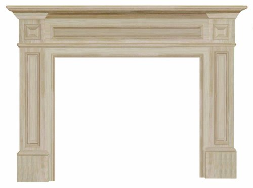 Pearl Mantels 140-50 Classique 50-Inch Fireplace Mantel, Unfinished (Fireplace Frame compare prices)