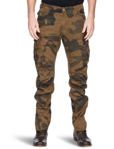 G-Star Arctic Rovic 3D Loose Tapered Men's Trousers Wild Olive W33INxL34IN