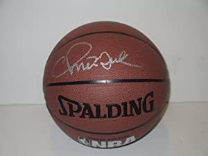 Chris Mullin Autographed Signed NBA Spalding I O Basketball, Golden State Warriors,... by Southwestconnection-Memorabilia