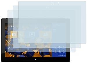 3 x mumbi Displayschutzfolie Microsoft Surface Pro / Microsoft Surface Pro 2 Schutzfolie
