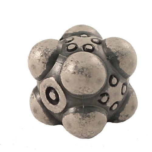 1 (One) Single IronDie: Solid Metal Italian Dice - White Nullifier (Die-Cast Designer Six-Sided Die / d6)