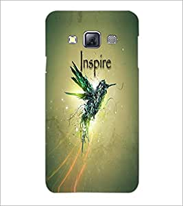 PrintDhaba Quote D-3336 Back Case Cover for SAMSUNG GALAXY A3 (Multi-Coloured)