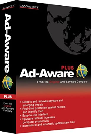 Lavasoft Ad Aware 2007 Plus Version 2.0