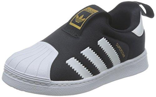 【Adidas】 アディダスオリジナルス Ss 360 I スーパースター360 インファント S82711 17sp キッズ Blackwhtwht 12cm