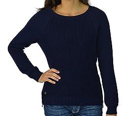 Lauren by Ralph Lauren Women's Long Sleeve Sweater Medium Navy