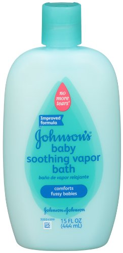 Johnson's Baby Soothing Vapor Bath, 15 Ounce (Pack of 2)