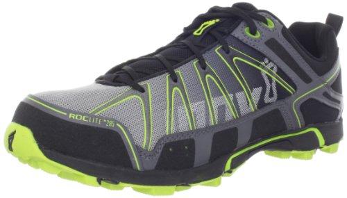 Inov-8 Roclite 295 Trail Running Shoe,Grey/Lime,9 M US