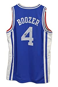 Carlos Boozer Autographed Jersey - Duke University Blue Devils Blue Nike -... by Sports+Memorabilia