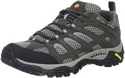 Merrell Women\'s Moab Ventilator Hiking Shoe,Beluga/Lilac,9 M US