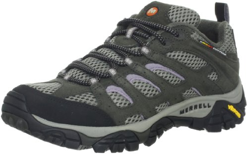 Merrell Women's Moab Ventilator Hiking Shoe,Beluga/Lilac,9 M US
