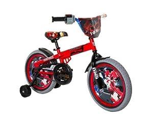 Transformers Boy's 16-Inch Optimus Prime Bike, Red/Black/Blue