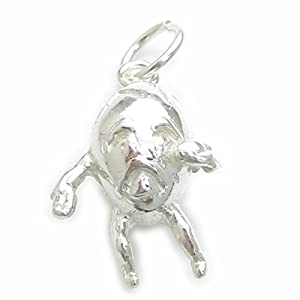 Humpty Dumpty sterling silver charm .925 x 1 Nursery Rhyme charms BJ1981 by Maldon Jewellery