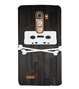 PrintVisa Danger Music Cassette Design 3D Hard Polycarbonate Designer Back Case Cover for LG G4 Mini