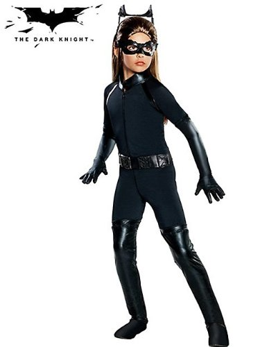 The Dark Knight Rises Deluxe Catwoman Child Costume at Gotham City Store