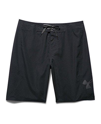 Under armour men 39 s ua mania boardshorts 38 black apparel for Under armour swim shirt
