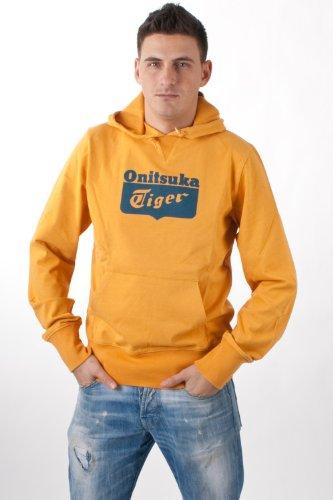 Onitsuka Tiger by asics men's Jersey Hoody orange, size:M