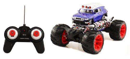 Electric 1:16 Scale Toyota FJ Cruiser Full Function RTR RC Monster Truck Remote Control