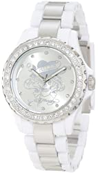 Ed Hardy Women's VX-WH Vixen White Watch