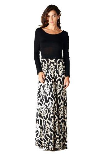 On Trend Women s Seasons Change Long Sleeve Maxi Dress   - Import It All 829a9aac4