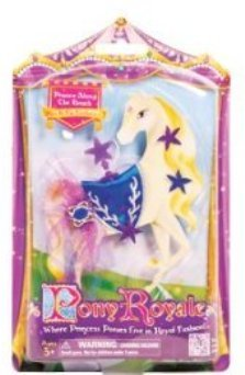 Pony Royale Prance Along the Beach Mix-It-Up Fashions - Blue and Purple