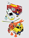 Fireman Sam Emergency Vehicle Play Set with Figures